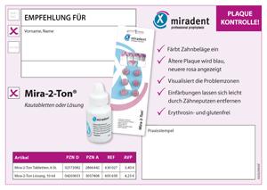 Mira-2-Ton Empfehlungsblock